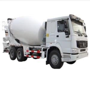 sinotruk howo 6×4 concrete mixer truck