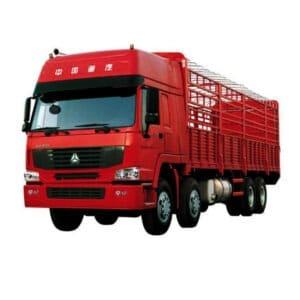 sinotruk howo 371 cargo truck 8×4 12 wheel heavy duty lorry truck
