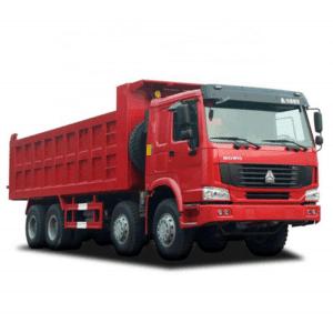 sinotruk cnhtc china truck supplier howo 8×4 dump truck